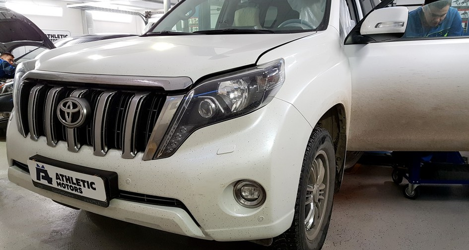 Чип тюнинг Toyota Land Cruiser Prado