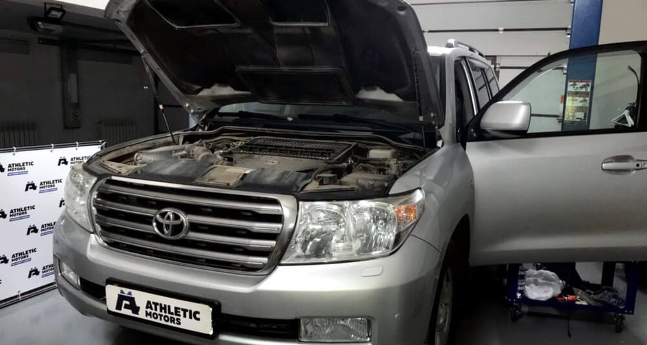 Чип тюнинг Toyota Land Cruiser 200 4.5D