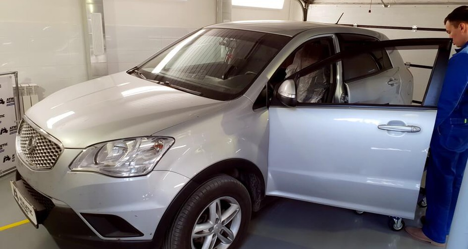 Чип тюнинг Ssangyong Actyon 2.0 149 л.с